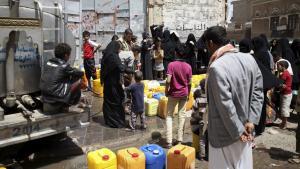 Jemeniten in Sanaa; Foto: Reuters