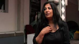 Die syrische Dichterin Hala Mohammad; Quelle: youtube