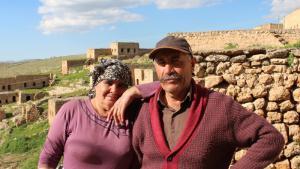 Yusuf und Xezal Erdem im südanatolischen Dorf Taqa; Foto: Ekrem Güzeldere