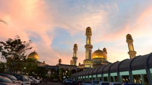 Die Jame'asr Hassanil Bolkiah-Moschee in Bandar Seri Begawan, Brunei; Foto: REUTERS/Ahim Rani