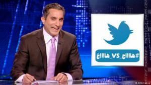 "Bassem Youssef moderiert ""Al-Bernameg""; Foto: Al-Bernameg"