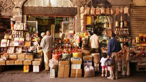 Basar in Damaskus; Foto: picture-alliance/bildagentur-online.com