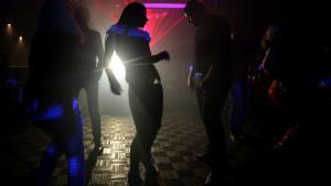 Syrer in einem Nachtclub in Aleppo. Foto: Joseph Eid/ AFP/ Getty Images