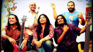 Die Mekaal Hasan Band; Quelle: Facebook-Seite der Mekaal Hasan Band
