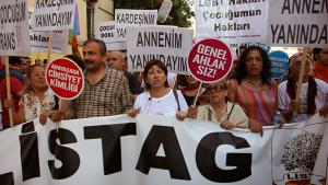 LGBT-Demo in Istanbul; Foto: Dorian Jones/DW