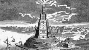 Historische Nachbildung Leuchtturm von Alexandria; Quelle: picture-alliance