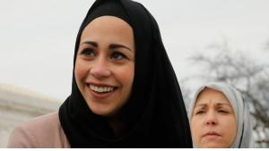 Muslimin Samantha Elauf; Foto: Reuters