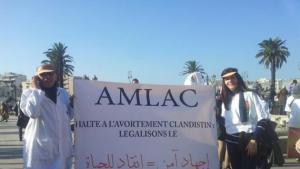 Demonstration gegen Kriminalisierung von Abtreibungen in Marokko; Foto: privat