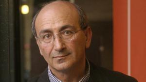 Der libanesische Schriftsteller Rashid al-Daif; Foto: imago/gezett