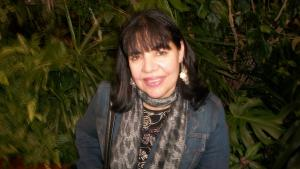 Die tunesische Dichterin Najet Adouani; Foto: privat