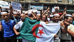 Berber demonstrieren in Ghardaia; Foto: picture-alliance/dpa