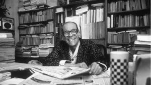 Naguib Mahfuz. Foto: gemeinfrei