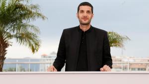 Regisseur Nabil Ayouch beim Film Festival in Cannes, 2015. Foto: picture-alliance/dpa/I. Langsdon