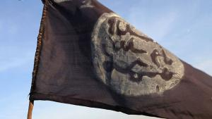 Flagge von Boko Haram. Foto: S. Yas/AFP(Getty Images)
