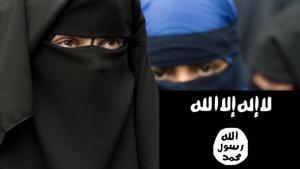 Symbolbild Frauen im IS. Foto: picture-alliance/dpa