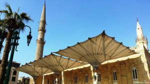 Die Hussein-Moschee in Kairo (Foto: DW)