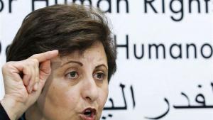 Die iranische Menschenrechtsaktivistin, Anwältin und Friedensnobelpreisträgerin Shirin Ebadi, Foto: Reuters