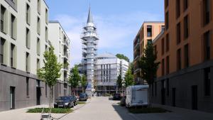 Die Mevlana-Moschee in Konstanz; Foto: picture alliance/JOKER