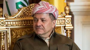 Kurdenführer Masud Barzani; Foto: Reuters