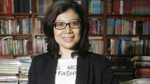 Die indonesische Autorin Linda Christanty; Foto: Muhammad Ali