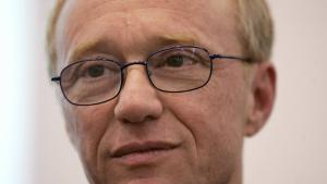 Der israelische Schriftsteller David Grossman; Foto: AFP