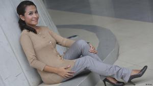 Die indonesische Autorin Feby Indirani; Foto: privat