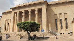 Außenansicht Nationalmuseum Beirut; Foto: Juliane Metzker