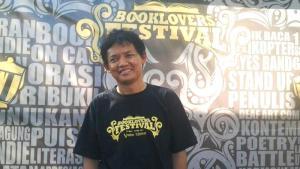 Der indonesische Schriftsteller Sigit Susanto; Foto: privat