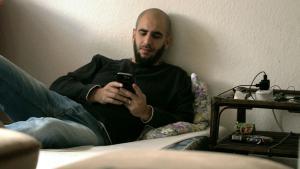 Der syrische Flüchtling Alaa Houd; Foto: DW/Claudia Dehn