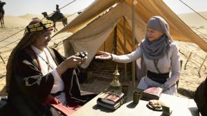 """Filmstill """"Königin der Wüste"""": Gertrude Bell (Nicole Kidman) erkennt die Seele der Beduinenvölker und knüpft unschätzbare Bande; Foto: 2015 PROKINO Filmverleih GmbH"""