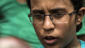 Die ägyptische Schülerin Mariam Malak; Foto: Getty Images/AFP/K. Desouki