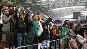 Oppositionsveranstaltung in Algiers; Foto: Ben Chenouf Mahrez