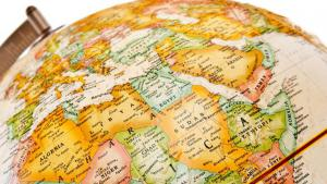 Globus mit Blick auf die MENA-Region; Foto: fotolia