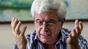 Der libanesische Autor Elias Khoury; Foto: picture-alliance/AP Photo/B. Hussein