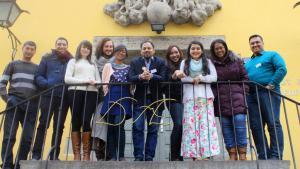 CrossCulture Praktikanten des Instituts für Auslandsbeziehungen in Stuttgart; Foto: Juliane Pfordte