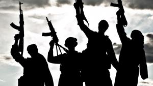Dschihadistische Kämpfer des Islamischen Staates; Quelle: Colourbox/krbfss