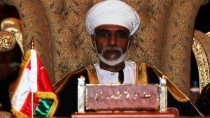 Omans Herrscher Sultan Qaboos bin Said Al-Said; Foto: AP