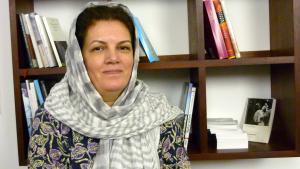 Die iranische Autorin Fariba Vafi; Foto: Maryam Aras