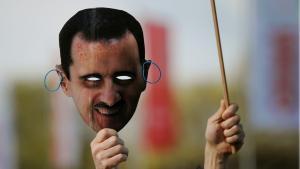 Demonstration gegen das Assad-Regime; Foto: picture-alliance/dpa