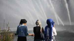 Junge Muslime in Deutschland; Foto: picture-alliance/dpa/A. Heimken