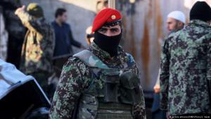 Afghanische Sicherheitskräfte am Flughafen Kandahar im Süden Afghanistans, Foto: picture alliance/ZUMA Press/ S. Saiem
