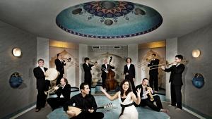 """Das """"Anatolian Jazz Orchestra""""; Foto: Matthias Martin"""