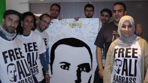 """Kampagne """"Free Ali Aarrass""""; Quelle: www.freeali.eu"""