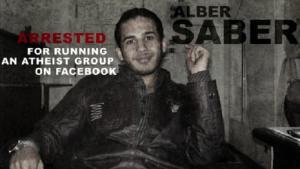 Der ägyptische Bogger Alber Saber; Quelle: patheos.com
