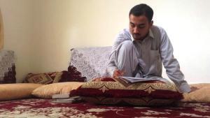 Der afghanische Schriftsteller Taqi Akhlaqi; Foto: ARD
