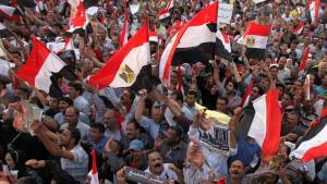Proteste auf dem Tahrir-Platz in Kairo, Foto: Reuters