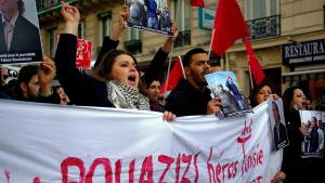 Solidaritätsdemonstration für Mohamed Bouazizi in Frankreich (photo: Antoine Walter; source: Wikimedia commons.org)