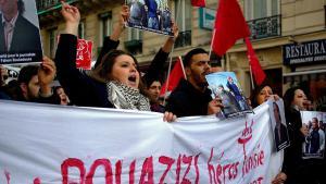 Solidaritätsdemonstration für Mohamed Bouazizi in Frankreich (photo: Antoine Walter; source: Wikimedia commons.org)