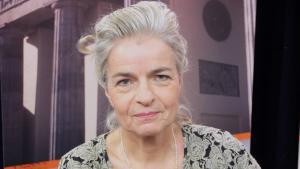 Die Journalistin Charlotte Wiedemann; Foto: DW