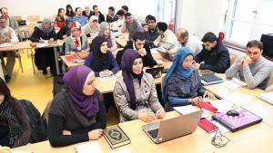 Vorlesung am Zentrum für islamische Theologie in Tübingen; Foto: imago/epd